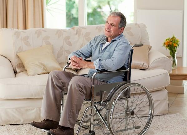 home modifications seniors grab bar wheelchair handicap