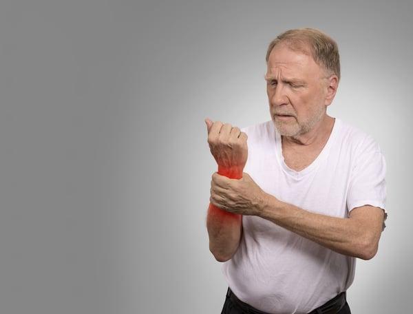 seniors living with arthritis