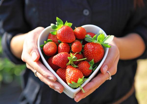 Berries help with heart disease